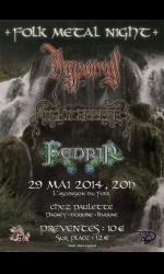 Folk Metal Night:HYPOCRAS+NIGHTCREEPERS+FENRIR